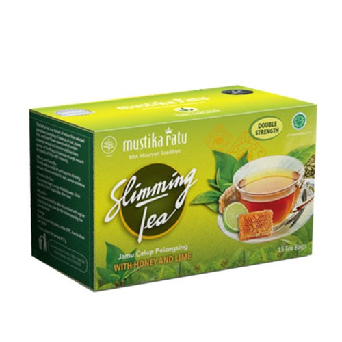 SLIMMING TEA HONEY LIME 15'S NP DOOS