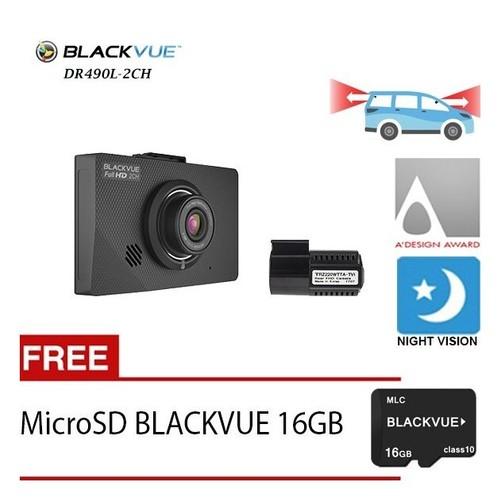 Blackvue Dashcam DR 490L-2CH - Free 16GB