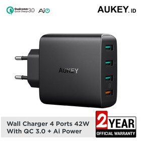 Aukey Charger 4 Ports 18W Q