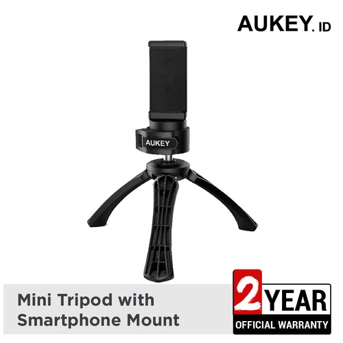 Aukey Holder Mini Tripod with Smartphone Mount - 500237