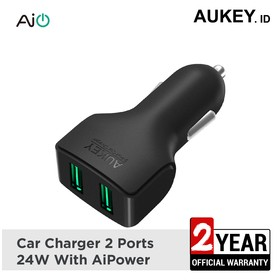 Aukey Car Charger 2 Ports 2