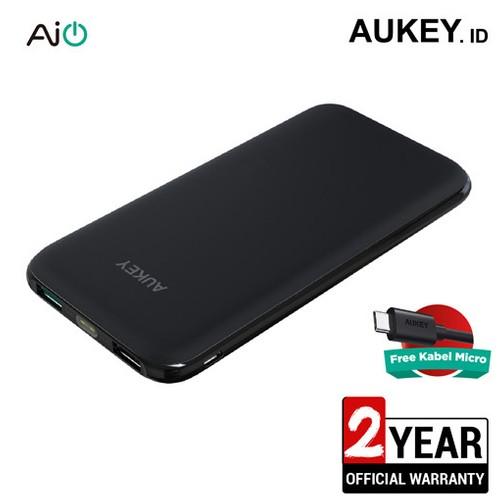 Aukey Power Bank Slim 10.000 mAh with AiQ - 500290