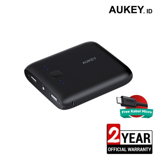 Aukey Power Bank 10.000 mAh with AiQ - 500245