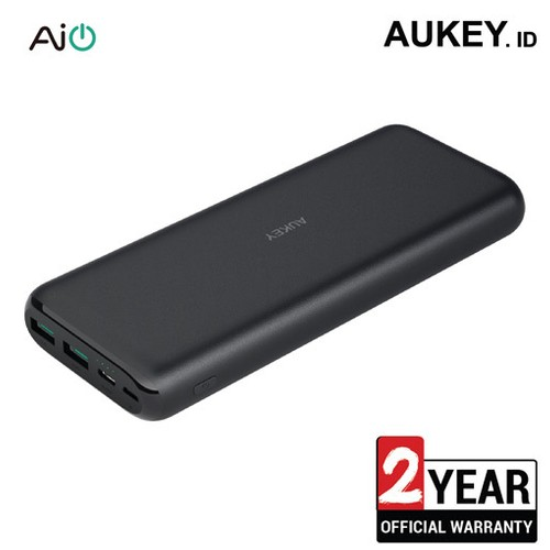 Aukey Power Bank 20.000 mAh with USB C Fast Charging - 500361