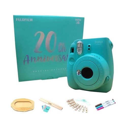 FujiFilm Instax 20th Anniversary Package - Aqua Green