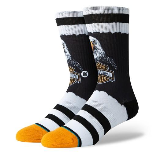 Stance Harley Bald Eagle (Socks) - Black (Accessories)