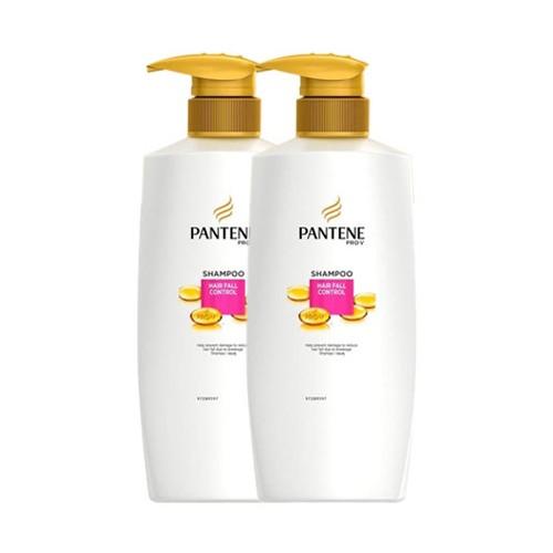 Pantene Shampoo Hairfall Control - 400ml - Paket Isi 2