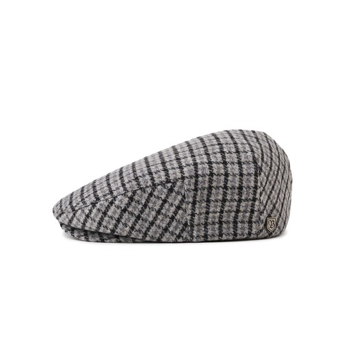 Brixton Hooligan (Snap Cap) - Grey/Charcoal (Headwear)