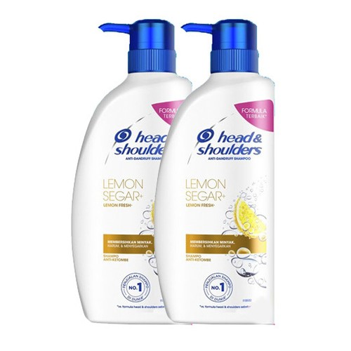 Head and Shoulders Shampoo Lemon Fresh - 680ml - Paket isi 2