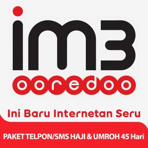 Indosat Haji & Umroh Telpon & SMS 45 Hari