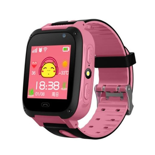 Kids Watch with Camera & Touchscreen - Pink