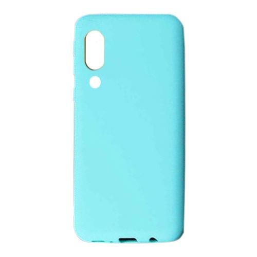 Tunedesign Liquid Silicon Case for Samsung Galaxy A70 - Baby Blue