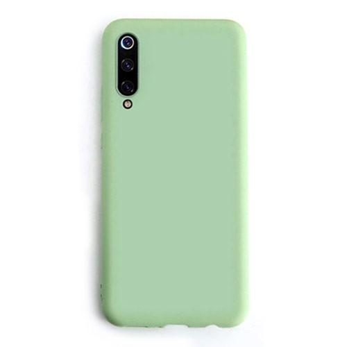 Tunedesign Liquid Silicon Case for Samsung Galaxy A70 - Green