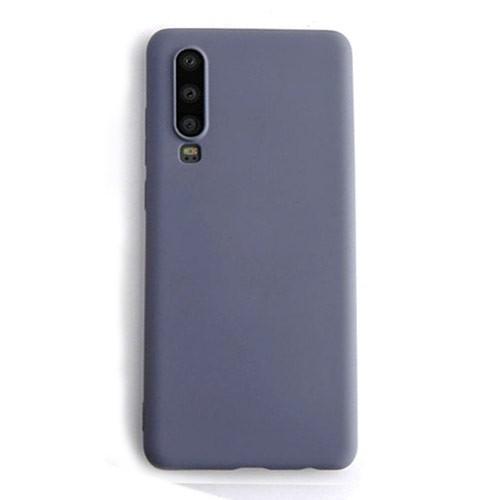 Tunedesign Liquid Silicon Case for Samsung Galaxy A70 - Grey