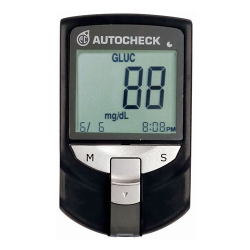 Autocheck Multi Monitoring System 3 in 1 Meter - Black