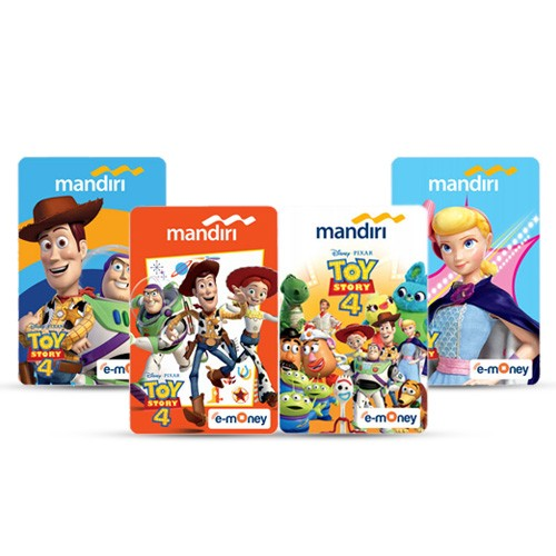 Mandiri eMoney Toy Story - 4 Package