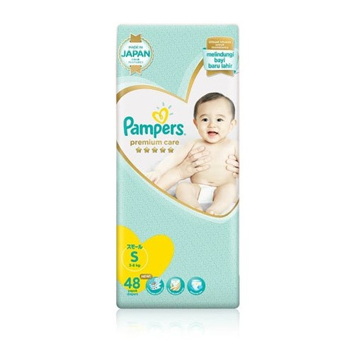 Pampers Popok Perekat Premium Care S - 48