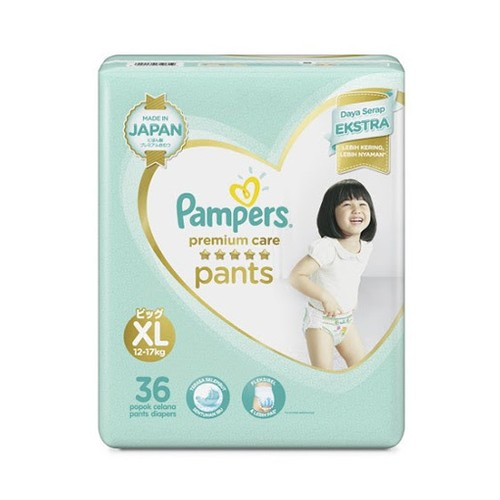 Pampers Popok Celana Premium Care XL - 36