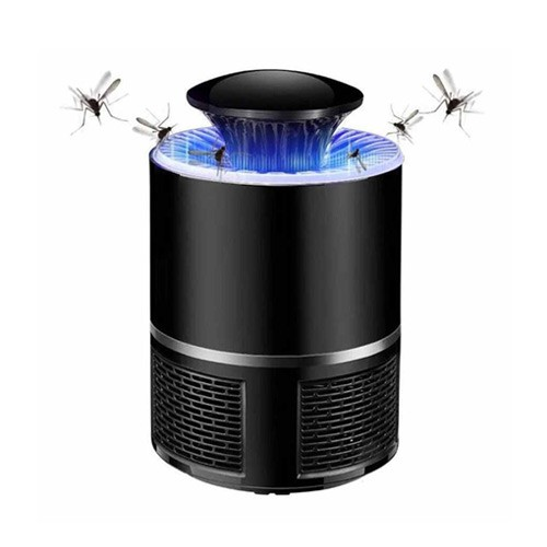 Pembasmi Nyamuk UV LED Photocatalyst Mosquito Repellent  - Black