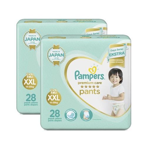 Pampers Popok Celana Premium Care XXL - 28 - Paket isi 2