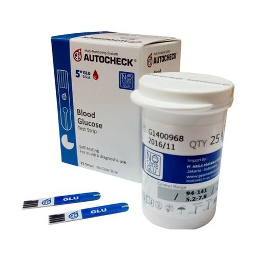 Autocheck Test Strip Glukosa - Biru