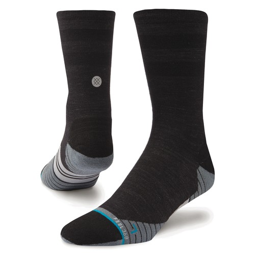 Stance Uncommon Solids Wool Crew (Socks) - Charcoal (Accessories)