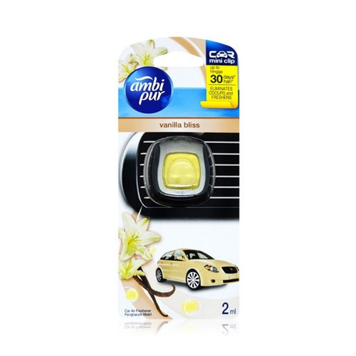AmbiPur Car Vanilla Bliss Vent Clips - 2ml