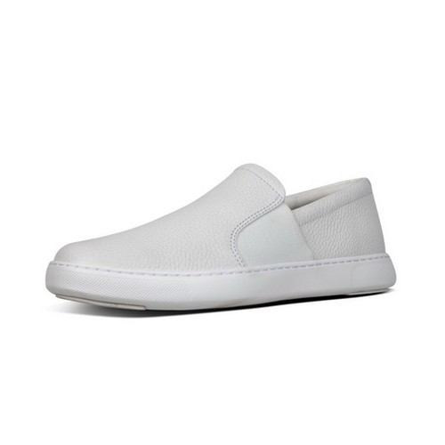 Fitflop Collins Slip On Men Shoes - Urban White