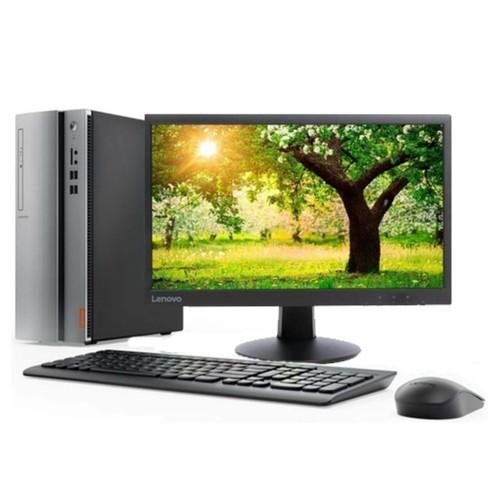 Lenovo Desktop PC Ideacenter 510-15IKL-NVID with AMD RX 550 2GB - Grey
