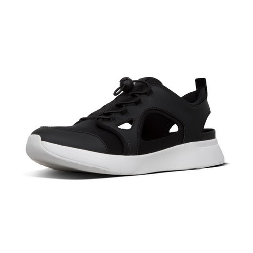 Fitflop Hollis Neoprene Men Shoes - Black