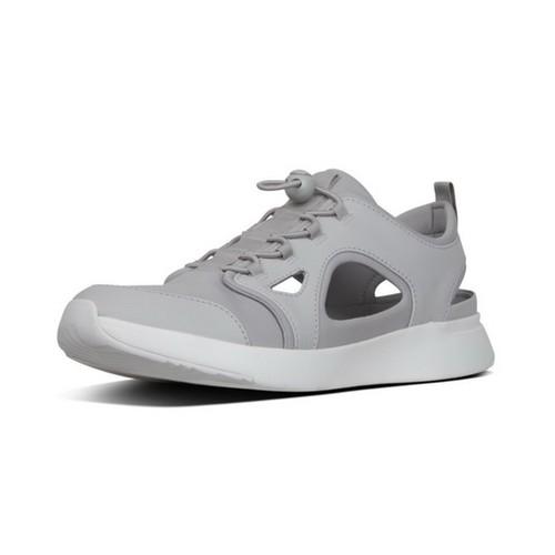 Fitflop Hollis Neoprene Men Shoes - Light Grey