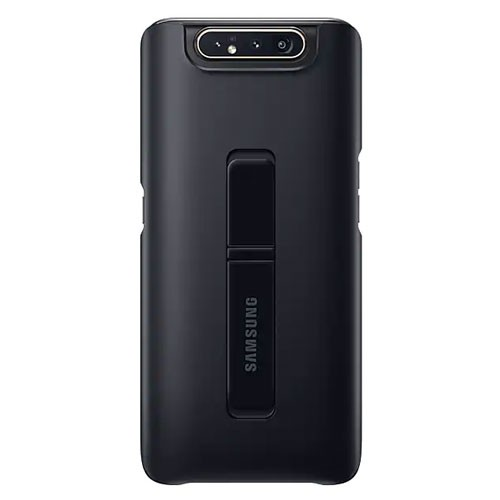 Samsung Standing Cover Case For Galaxy A80 - Black