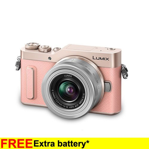 Panasonic Lumix G Mirrorless Camera GF10 - Pink