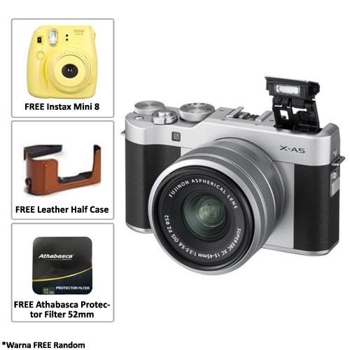 Fujifilm Mirrorless Camera X-A5 kit 15-45mm - Silver