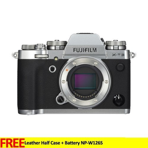 Fujifilm Mirrorless Digital Camera X-T3 Body only - Silver