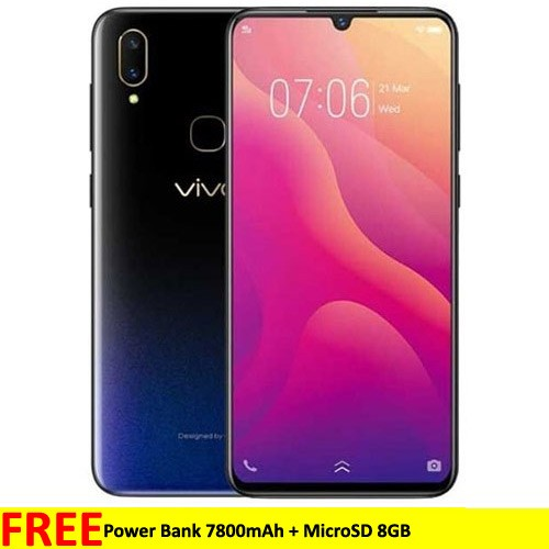Vivo V11 (RAM 6GB/64GB) - Starry Black