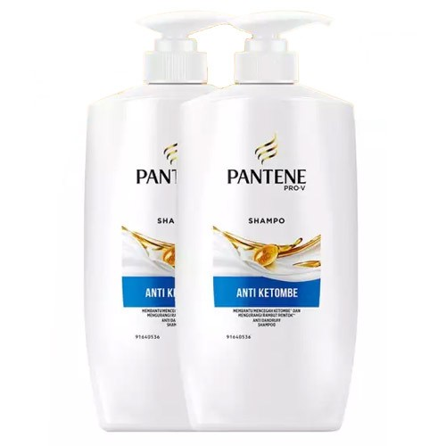 Pantene Shampoo Anti Dandruff - 900ml - Paket isi 2