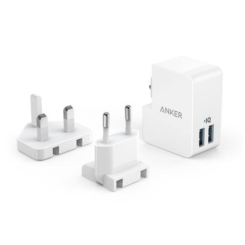 Anker PowerPort Lite 2 Ports White A2022G21