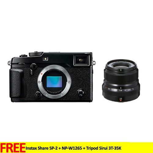 Fujifilm Mirrorless Digital Camera X-PRO2 - Black with XF 23mm Lens