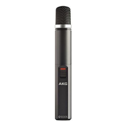 AKG C1000S High-Performance Small Diaphragm Condenser Microphone - Black