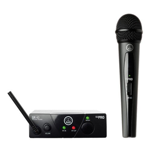 AKG WMS40 Mini Vocal Set ISM1 Wireless Microphone System