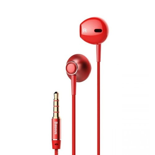 Baseus Encok Wired In-Ear Headphone H06 - Red
