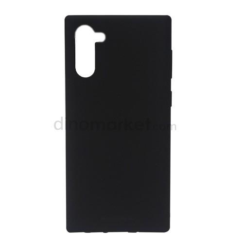 Goospery Soft Feeling Jelly Case for Samsung Galaxy Note10 - Black