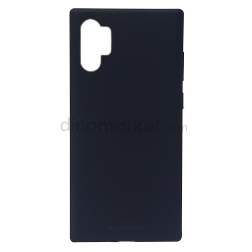 Goospery Soft Feeling Jelly Case for Samsung Galaxy Note10+ - Midnight Blue