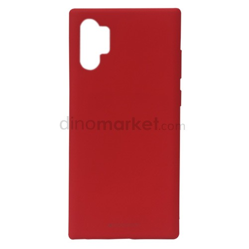 Goospery Soft Feeling Jelly Case for Samsung Galaxy Note10+ - Red