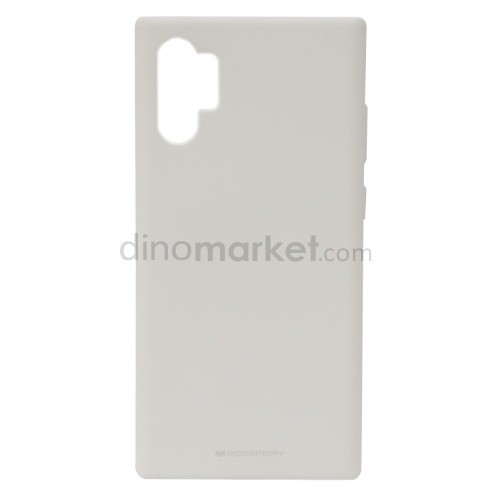 Goospery Soft Feeling Jelly Case for Samsung Galaxy Note10+ - White
