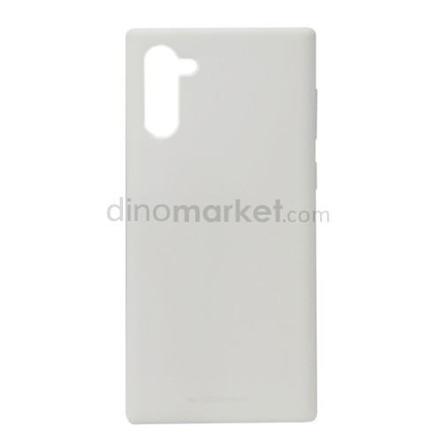 Goospery Soft Feeling Jelly Case for Samsung Galaxy Note10 - White