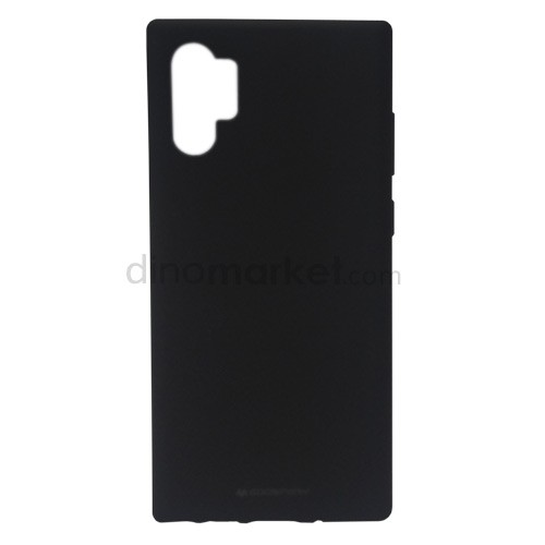 Goospery Soft Feeling Jelly Case for Samsung Galaxy Note10+ - Black