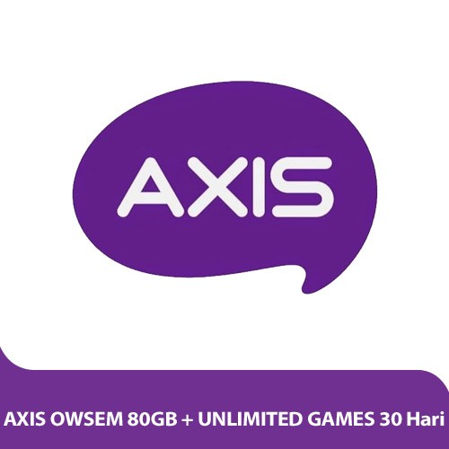 Axis OWSEM 80GB + Unlimited Games 30 Hari