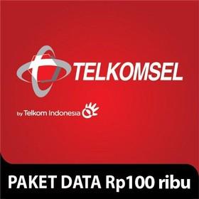 Telkomsel Paket Data Rp 100
